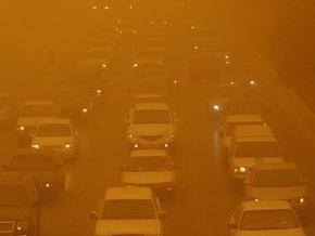 Столицу Таджикистана накрыла сильная пыльная буря