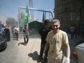 Застройщики не намерены отказываться от строительства дома по улице Гончара в Киеве