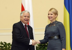 Тимошенко встретилась с советником Обамы и Качиньским
