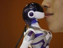 Японцы создали целующегося робота