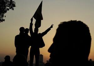 В Каире сторонники Мубарака провели демонстрацию