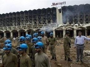 В Исламабаде горит отель Мариотт
