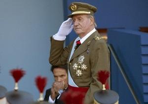 Король Испании появился на официальном мероприятии с разбитым носом и синяком под глазом
