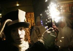 МВД: Новогодние гуляния в Украине прошли без нарушений порядка