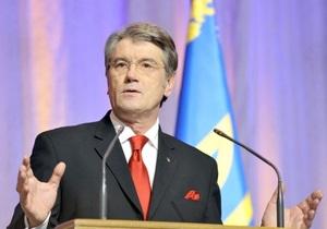 Ющенко не стыдно за годы своего президентства