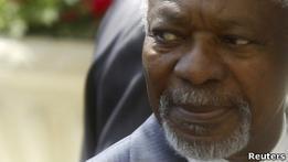 Кофи Аннан прибыл в Сирию на переговоры с Башаром Асадом
