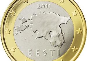 СМИ: На новых евро к Эстонии присоединили часть России