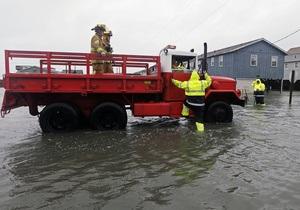 В одном из затопленных районов Нью-Йорка сгорели 50 домов