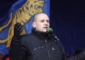 В машине Сергея Удальцова искали оружие, но не нашли