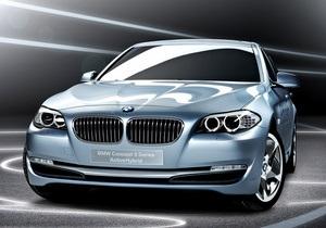 В 2011 году начнется серийный выпуск гибрида BMW 5-Series