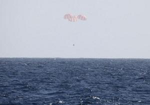 NASA сообщает о возвращении Dragon на Землю с МКС