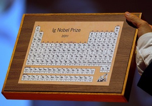 Сегодня в США назовут лауреатов Шнобелевской премии