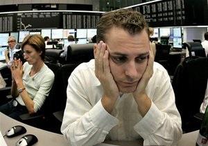 Украинский фондовый рынок показал рекордный обвал