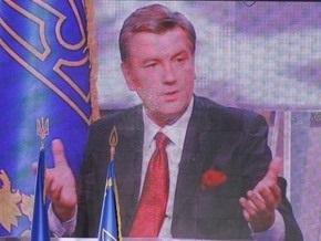 Ющенко остановил внедрение цифрового телевидения
