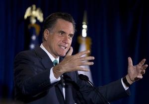 Ромни раскритиковал политику Обамы на Ближнем Востоке и пообещал вооружить сирийскую оппозицию