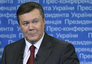 Фотогалерея: Сказал, как отрезал. Янукович дал пресс-конференцию