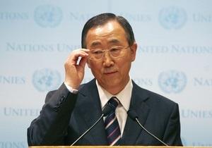 Генсек ООН получил черный пояс по тхэквондо