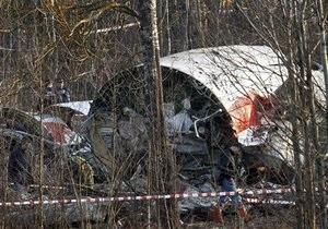 С места крушения польского Ту-154 изъяты все обломки самолета