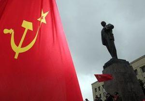 В Черниговской области неизвестные обстреляли памятник Ленину