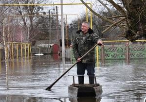 В Украине подтоплены почти 100 населенных пунктов