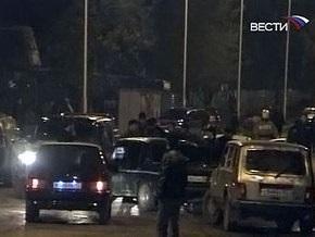 В Грозном подорвали милицейскую машину: один погибший, 13 раненых