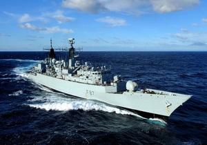 Британский фрегат потопил две лодки сомалийских пиратов
