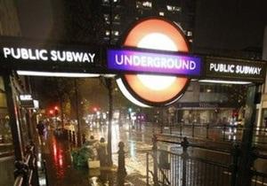В Лондоне началась суточная забастовка работников метро