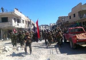 Сирийская армия готовит наступление на Алеппо