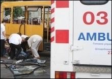 Столкновение двух микроавтобусов в Николаевской области: все погибли
