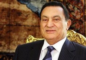 Президент Египта Хосни Мубарак. Справка
