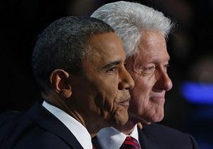Пресса Британии: Клинтон переизбрал Обаму
