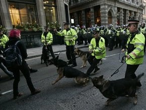 Полиция Лондона готовится к возобновлению акций протеста против G20