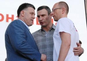 Оппозиция объявила перерыв в акциях до 24 августа