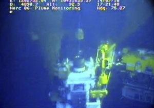 BP начала тестирование новой заглушки в Мексиканском заливе