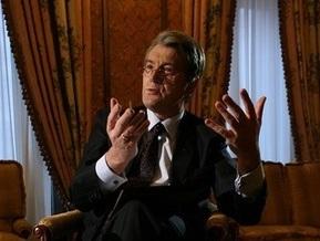 Ющенко: Украина еще не родила такого политика, который перекрыл бы Европе газ