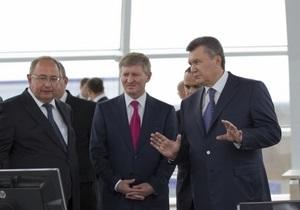 Большинство журналистов не попали на запуск ВЭС с участием Януковича и Ахметова