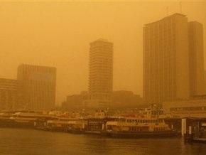 На Сидней обрушилась пыльная буря