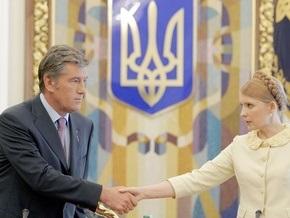 Президент намерен оставить Тимошенко и может создать блок Ющенко