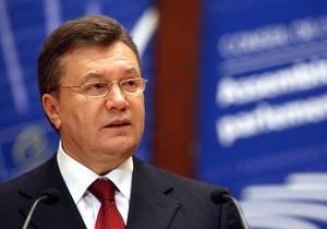Янукович заверил ПАСЕ, что не собирается восстанавливать памятники эпохи СССР