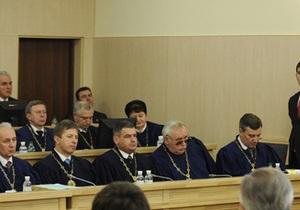 ВАСУ продолжает рассмотрение иска Тимошенко к ЦИК (обновлено)
