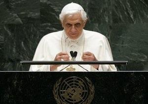 Папа Римский решил отречься от престола