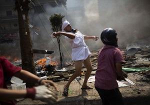Египет - В центре Каира началась стрельба