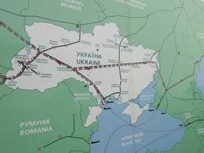Украина вдвое сократила транзит газа