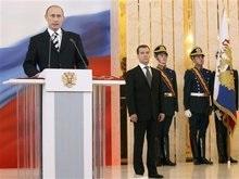 В день инаугурации Медведева в Москве выпал снег