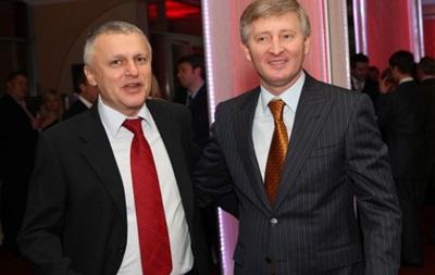 Ринат Ахметов поздравил Игоря Суркиса с юбилеем