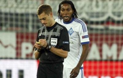 Мбокани дисквалифицирован на три матча Лиги Европы