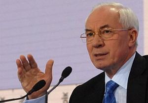 Азаров считает формат 3+1 единственно возможным для сотрудничества с Таможенным союзом