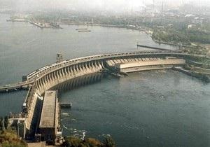 В Запорожье сообщили о заминировании плотины ДнепроГЭС