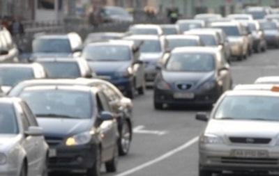 ГАИ призывает водителей ограничить завтра поездки в центр Киева