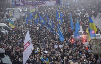 Оппозиция намерена 25 ноября устроить блок-пикет у здания Кабмина